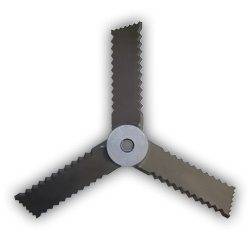Promix Mixer Three Bladed Axial Flow Turbine